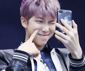 beautiful, precious, and purple hair image