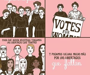 feminism, girl, and power image