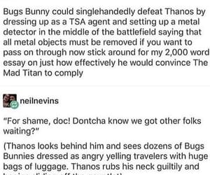 Avengers, bugs bunny, and Marvel image