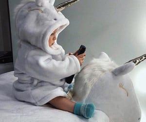 babies, baby, and unicorn image