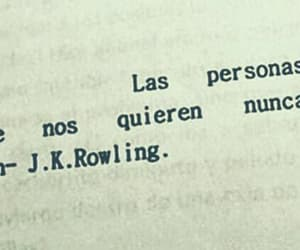 books, j.k. rowling, and letras image