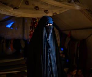 hijab, images, and niqab image