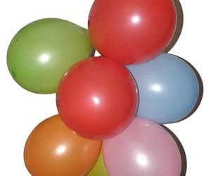 balloons, birthday, and colorful image