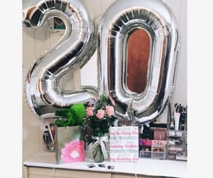 20, balloons, and beauty image