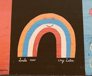 graffiti, smile, and note image