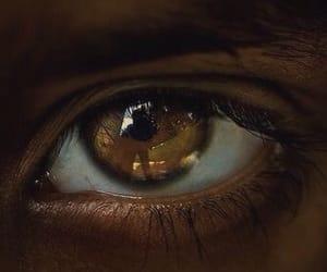 black, eye, and woman image