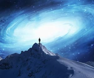 galaxy, alone, and sky image