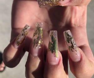 acrylics, girly, and nail art image