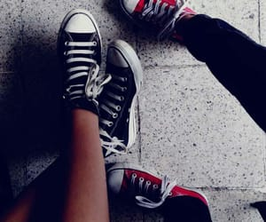 black, chill, and converse image
