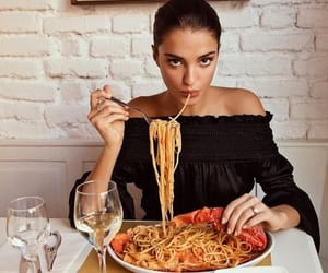 food, girl, and fashion image