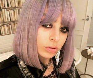 goth, purple hair, and charli xcx image