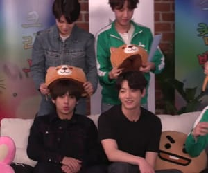 jin, j-hope, and rm image