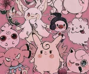 pokemon, pink, and wallpaper image
