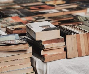 book, reading, and vintage image