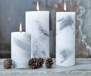 candles, marble, and fuego image