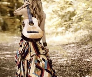 blonde, boho, and music image