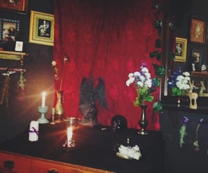altar, lucifer, and satan image