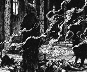 occult, priest, and ritual image
