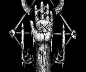 666, satanism, and witch image