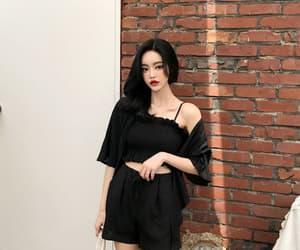 baby girl, korean fashion, and make up image