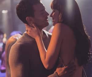 kiss, couple, and dakota johnson image