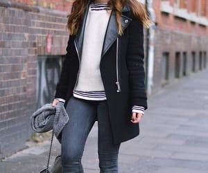 brunette, lookbook.nu, and cool girl image