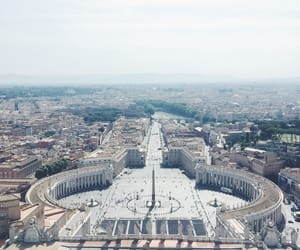 city, vatican, and italy image