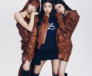 elle magazine, jennie, and blackpink image