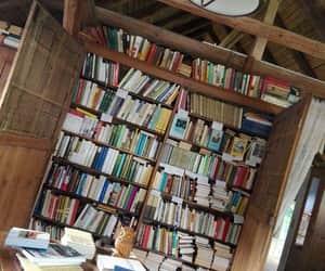 books, home, and Libary image