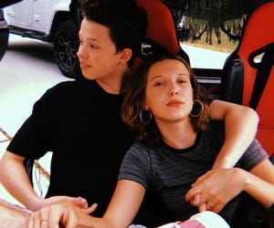 millie bobby brown, jacob, and fillie image