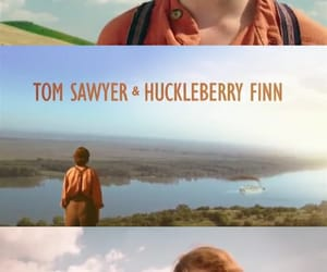 boys, huckleberry finn, and movie image