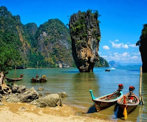 thailand, sea, and beach image