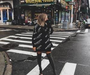Balenciaga, dress, and fashion image