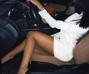 car, classy, and girl image