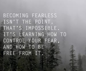 quotes, divergent, and fear image