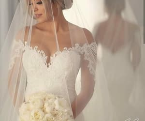 bride, style, and wedding day image