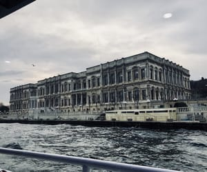 architecture, istanbul, and sea image