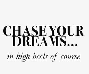 high heels, shoes, and quote image