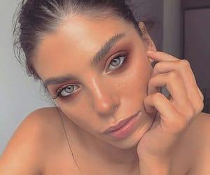 beautiful, eyes, and hair image