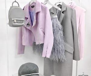 fashion, grey, and closet image