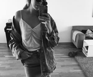 denim, girl, and jeans image