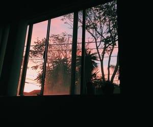 grunge, photography, and sunset image