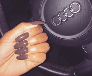 nails, audi, and car image