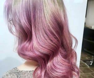 blonde, dip dye, and fashion image