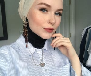 beauty, inspiration, and hijab image