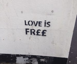 love, free, and quotes image