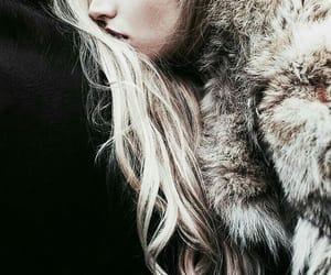 fur and girl image