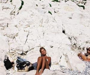 summer, girl, and tan image