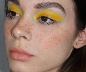 aesthetics, close up, and eye shadow image