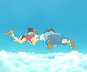 anime girl, princess mononoke, and totoro image